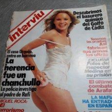 Coleccionismo de Revista Interviú: REVISTA INTERVIÚ NÚMERO 393 AÑO 8 DE 1983. Lote 104223824