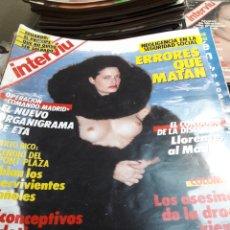 Coleccionismo de Revista Interviú: REVISTA INTERVIÚ NÚMERO 558 AÑO 12 DE 1987. Lote 104427839