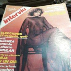 Coleccionismo de Revista Interviú: REVISTA INTERVIÚ NÚMERO 56 AÑO 2 DE 1977. Lote 104430132