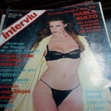 Coleccionismo de Revista Interviú: REVISTA INTERVIÚ NÚMERO 55 AÑO 2 DE 1977. Lote 104430916