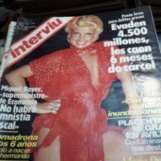 Coleccionismo de Revista Interviú: REVISTA INTERVIÚ NÚMERO 343 AÑO 7 DE 1982. Lote 104431211