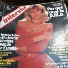 Coleccionismo de Revista Interviú: REVISTA INTERVIÚ NÚMERO 360 AÑO 8 DE 1983. Lote 104446766