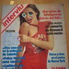 Coleccionismo de Revista Interviú: REVISTA INTERVIÚ NÚMERO 454 AÑO 1985. ROCÍO JURADO. Lote 105697283