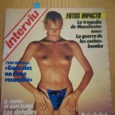 Coleccionismo de Revista Interviú: REVISTA INTERVIÚ NÚMERO 485 AÑO 1985. ROCÍO JURADO. Lote 105697623