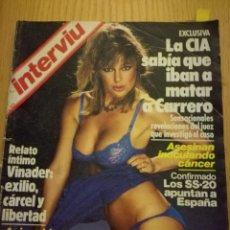 Coleccionismo de Revista Interviú: REVISTA INTERVIÚ NÚMERO 411 AÑO 1984. URSULA ANDRESS. Lote 105697807
