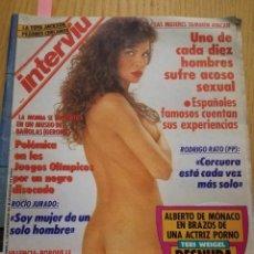 Coleccionismo de Revista Interviú: REVISTA INTERVIÚ NÚMERO 812 AÑO 1991. ROCÍO JURADO. Lote 105697879