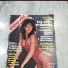 Coleccionismo de Revista Interviú: LOTE DE 16 REVISTAS INTERVIU AÑOS 80.. Lote 106148755