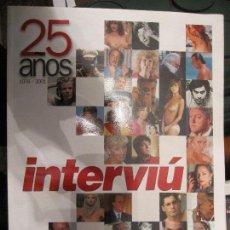 Coleccionismo de Revista Interviú: INTERVIU 25 AÑOS. Lote 107435935