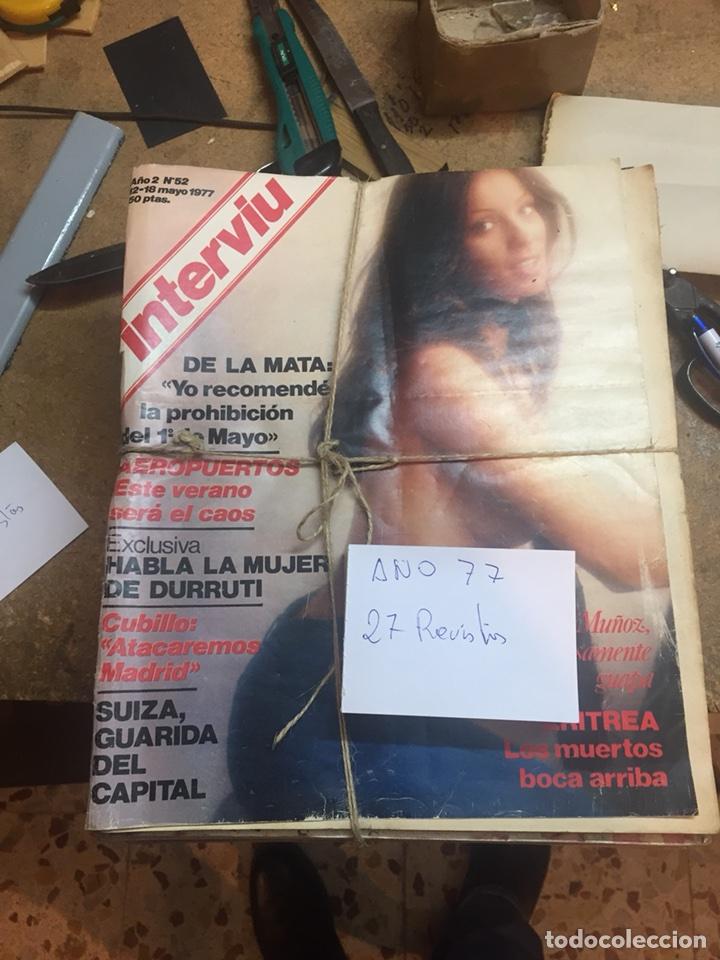 Coleccionismo de Revista Interviú: Revistas interviu - Foto 4 - 107966547