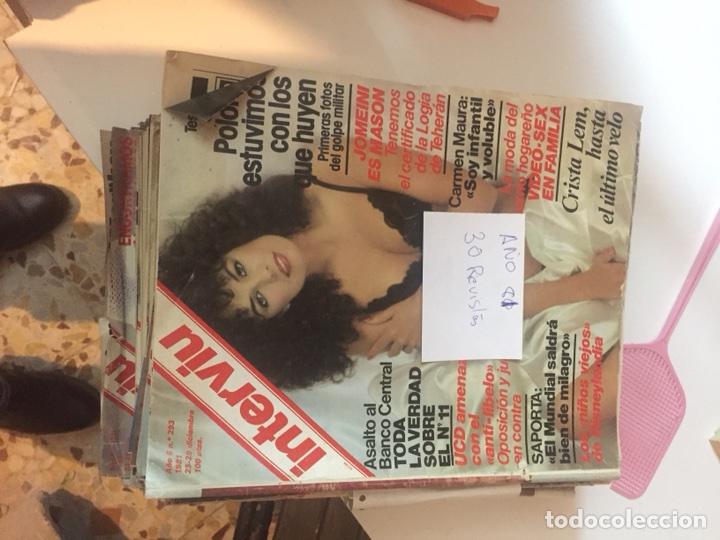 Coleccionismo de Revista Interviú: Revistas interviu - Foto 5 - 107966547