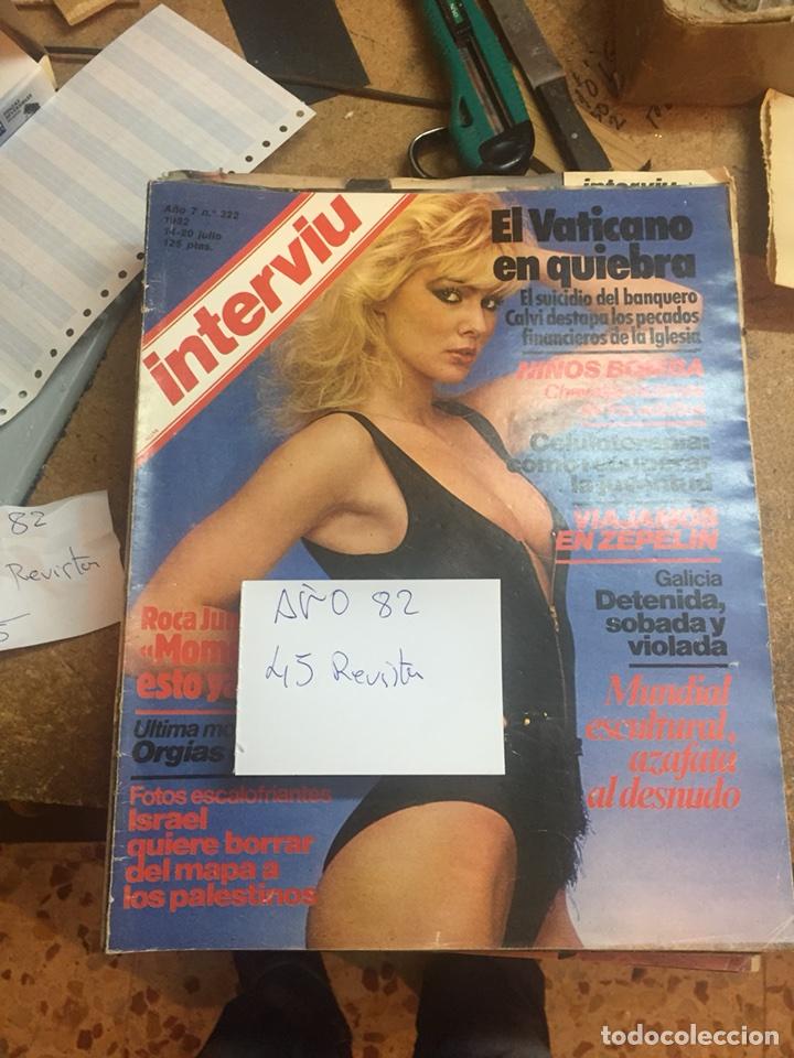 Coleccionismo de Revista Interviú: Revistas interviu - Foto 6 - 107966547