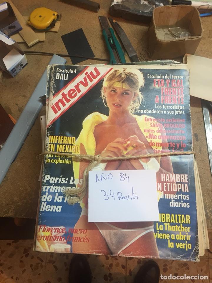 Coleccionismo de Revista Interviú: Revistas interviu - Foto 7 - 107966547