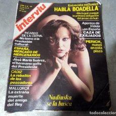 Coleccionismo de Revista Interviú: REVISTA INTERVIU. NUMERO 99. AÑO 1978. Lote 108988955