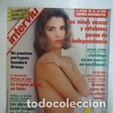 Revista Interviu 805 Portada Y Reportaje Cristina Marsillach 3 Octubre 1991 14