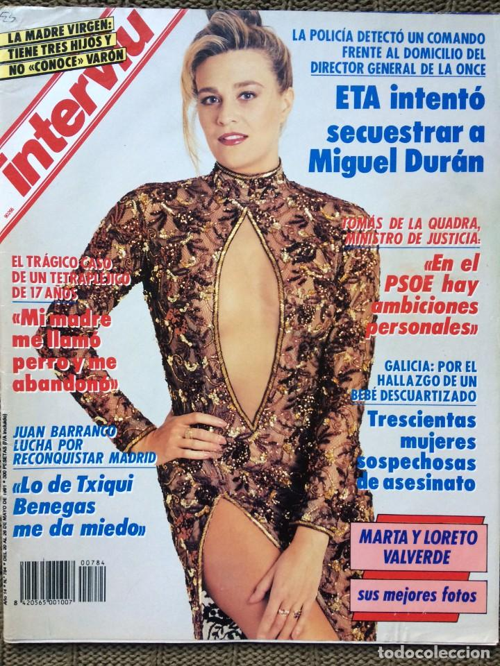 Interviu Marta Loreto Valverde 1991 Crazy Horse París