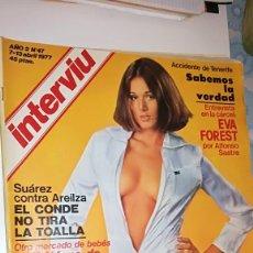 Coleccionismo de Revista Interviú: INTERVIU 47 - 1977. Lote 110632683