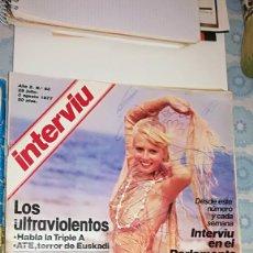 Coleccionismo de Revista Interviú: INTERVIU 63 - 1977. Lote 110633375