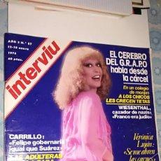 Coleccionismo de Revista Interviú: INTERVIU 87 - 1978. Lote 110666599