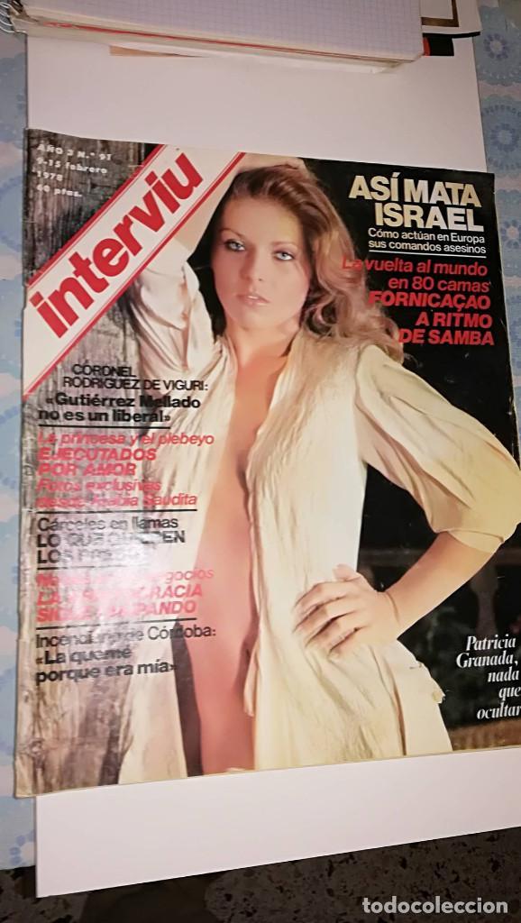 INTERVIU 91 - 1978 (Coleccionismo - Revistas y Periódicos Modernos (a partir de 1.940) - Revista Interviú)
