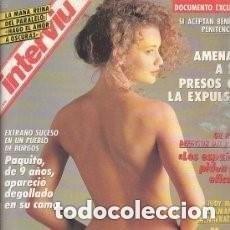Coleccionismo de Revista Interviú: #MARCELA# PORTADA Y REPORTAJE / REVISTA INTERVIU 835 / MAYO 1992/ 19. Lote 110800683