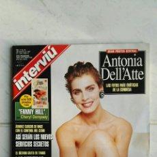 Coleccionismo de Revista Interviú: INTERVIÚ N°1090 MARZO 1997 FOTOS ANTONIA DELL'ATTE CON SUPLEMENTO INTERIOR EN PERFECTO ESTADO. Lote 111196960