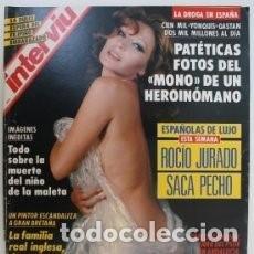 Coleccionismo de Revista Interviú: #ROCIO JURADO# PORTADA Y REPORTAJE / REVISTA INTERVIU 840 / JUNIO 1992/ 21. Lote 111408591