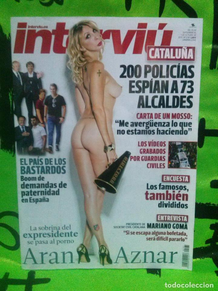 Revista Interviúnº 2161 Aran Aznar La Sobrina Del Expresidente