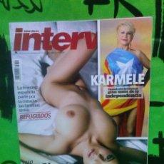 Coleccionismo de Revista Interviú: REVISTA INTERVIU Nº 2.056 - LACEY BANGHARD *FRAN HERMANO...KARMELE...2015.. Lote 111446707