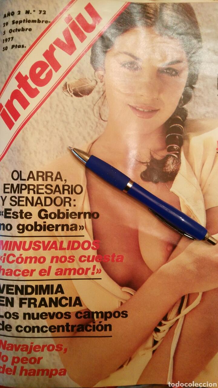 INTERVIU N°72 (1977) (Coleccionismo - Revistas y Periódicos Modernos (a partir de 1.940) - Revista Interviú)