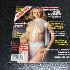 Coleccionismo de Revista Interviú: INTERVIU Nº 940 BIENVENIDA PEREZ. Lote 270652103