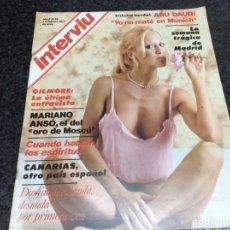 Coleccionismo de Revista Interviú: INTERVIU Nº 38 AÑO 1977 DOMINIQUE SANDA DESNUDA - MARIANO ANSÓ. Lote 112365403