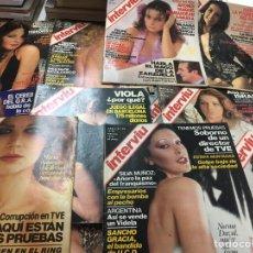 Coleccionismo de Revista Interviú: INTERVIU LOTE AÑOS 70. Lote 112427464