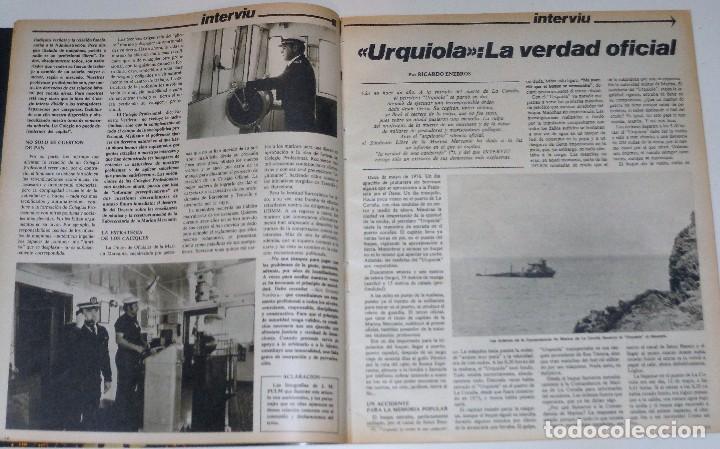 Coleccionismo de Revista Interviú: INTERVIU 1977 #45 Alicia Tomas Urquiola La Coruña Lola Flores revista - Foto 2 - 112432259