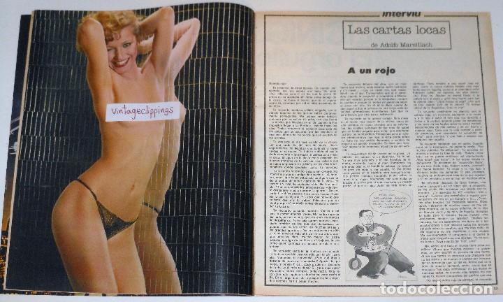 Coleccionismo de Revista Interviú: INTERVIU 1977 #45 Alicia Tomas Urquiola La Coruña Lola Flores revista - Foto 5 - 112432259