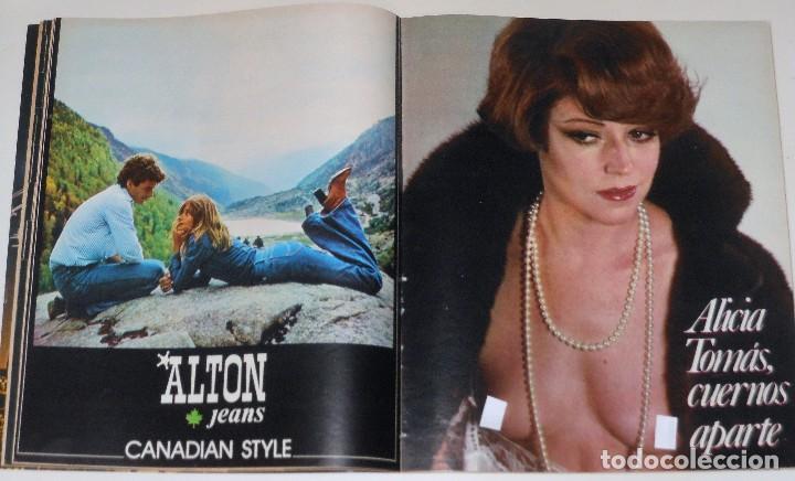Coleccionismo de Revista Interviú: INTERVIU 1977 #45 Alicia Tomas Urquiola La Coruña Lola Flores revista - Foto 6 - 112432259