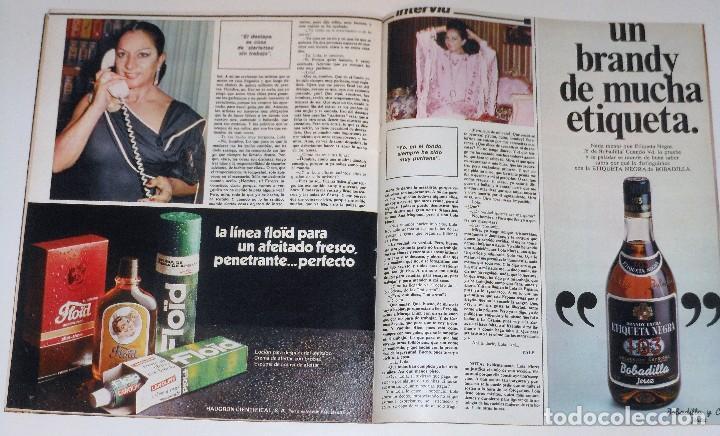 Coleccionismo de Revista Interviú: INTERVIU 1977 #45 Alicia Tomas Urquiola La Coruña Lola Flores revista - Foto 10 - 112432259