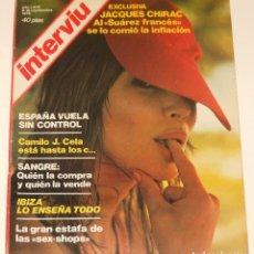 Coleccionismo de Revista Interviú: INTERVIU #17 1976 CAMILO JOSE CELA JACQUES CHIRAC SPAIN MEN'S MAGAZINE REVISTA. Lote 112439119
