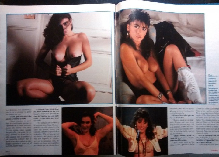 Coleccionismo de Revista Interviú: SABRINA SALERNO - INTERVIU - Foto 4 - 97194719