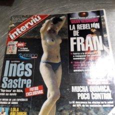Coleccionismo de Revista Interviú: REVISTA INTERVIÚ NÚMERO 1316 AÑO 25. Lote 236285640