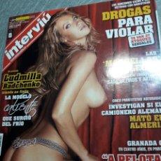 Coleccionismo de Revista Interviú: REVISTA INTERVIÚ NÚMERO 1601 AÑO 31. Lote 113951791