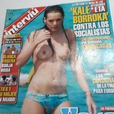 Coleccionismo de Revista Interviú: REVISTA INTERVIÚ NÚMERO 1527 AÑO 29. Lote 236285535
