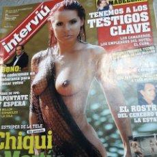 Coleccionismo de Revista Interviú: REVISTA INTERVIÚ NÚMERO 1639 AÑO 31. Lote 113981767