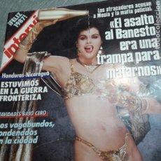 Coleccionismo de Revista Interviú: REVISTA INTERVIÚ NÚMERO 555 AÑO 12. Lote 113982212