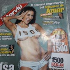 Coleccionismo de Revista Interviú: REVISTA INTERVIÚ NÚMERO 1500 AÑO 29. Lote 113983372