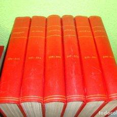 Coleccionismo de Revista Interviú: REVISTA INTERVIU ENCUADERNADO DEL NUMERO 226 AL 300 EN SIETE TOMOS AÑO 1980 VER FOTOS. Lote 114138263