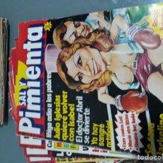 Coleccionismo de Revista Interviú: LOTE 32 NÚMEROS REVISTA SATÍRICA SAL Y PIMIENTA (SUPLEMENTO DE INTERVIU) . Lote 114817095