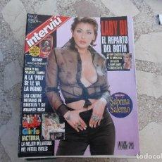 Coleccionismo de Revista Interviú: INTERVIU Nº 1155, SABRINA SALERNO, 4 PAGINAS 6 FOTOS,LADY DI EL REPARTO DEL BOTIN,. Lote 114876615