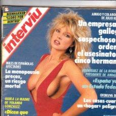 Coleccionismo de Revista Interviú: REVISTA INTERVIU Nº 687 JULIO 1989. PORTADA CORINNE RUSSELL. Lote 115048531