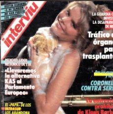 Coleccionismo de Revista Interviú: REVISTA INTERVIU 574 MAYO 1987 MARIEL HEMINGWAY PORTADA Y REPORTAJE . Lote 115049867
