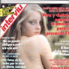 Coleccionismo de Revista Interviú: REVISTA INTERVIÚ 672 FOTOS JODIE FOSTER ACTRIZ . Lote 115049967